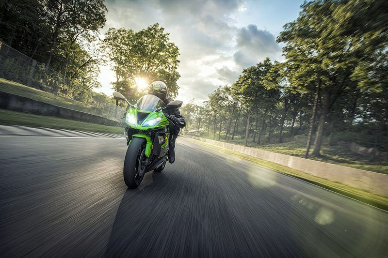 2018 Kawasaki Ninja ZX-6R ABS KRT EDITION in La Marque, Texas - Photo 13