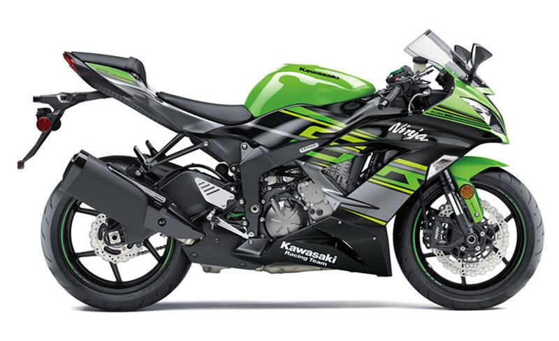 2018 Kawasaki Ninja ZX-6R KRT EDITION in Pendleton, New York