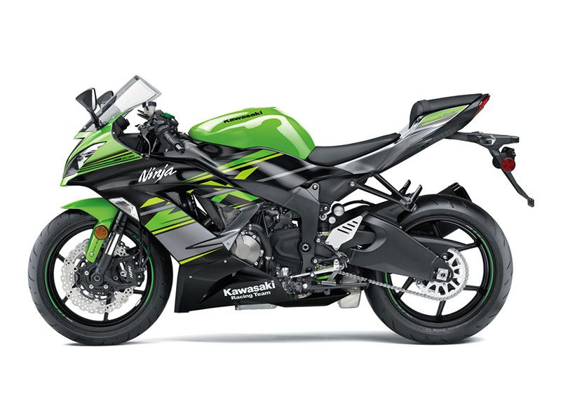 2018 Kawasaki NINJA ZX-6R KRT EDITION in Pahrump, Nevada