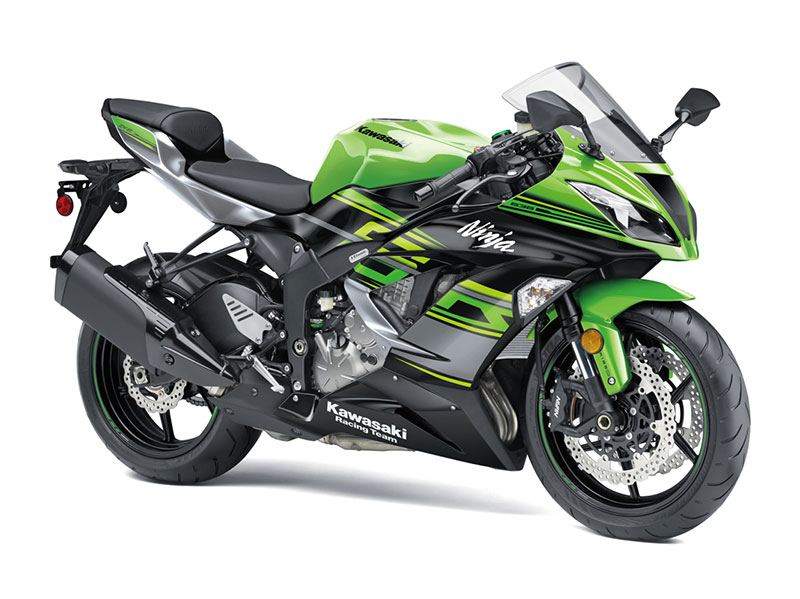 2018 Kawasaki NINJA ZX-6R KRT EDITION in Baldwin, Michigan