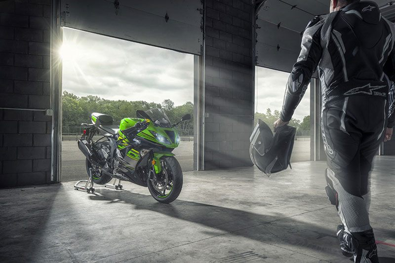 2018 Kawasaki NINJA ZX-6R KRT EDITION in Virginia Beach, Virginia