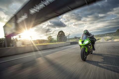 2018 Kawasaki Ninja ZX-6R KRT EDITION in South Haven, Michigan - Photo 9