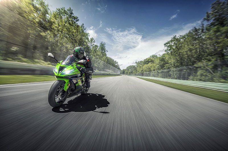 2018 Kawasaki NINJA ZX-6R KRT EDITION in Clearwater, Florida