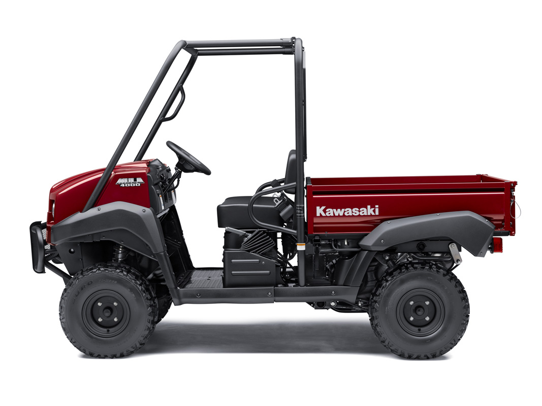 2018 Kawasaki Mule 4000 in Mount Vernon, Ohio