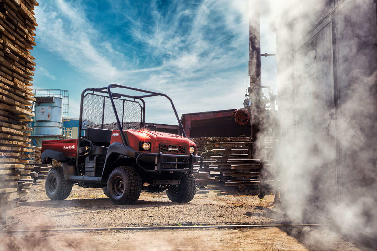 2018 Kawasaki Mule 4000 in Florence, Colorado