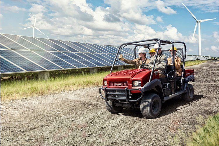 2018 Kawasaki Mule 4000 Trans in Greenville, North Carolina