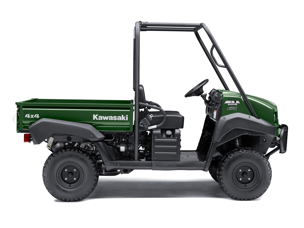 2018 Kawasaki Mule 4010 4x4 in Baldwin, Michigan