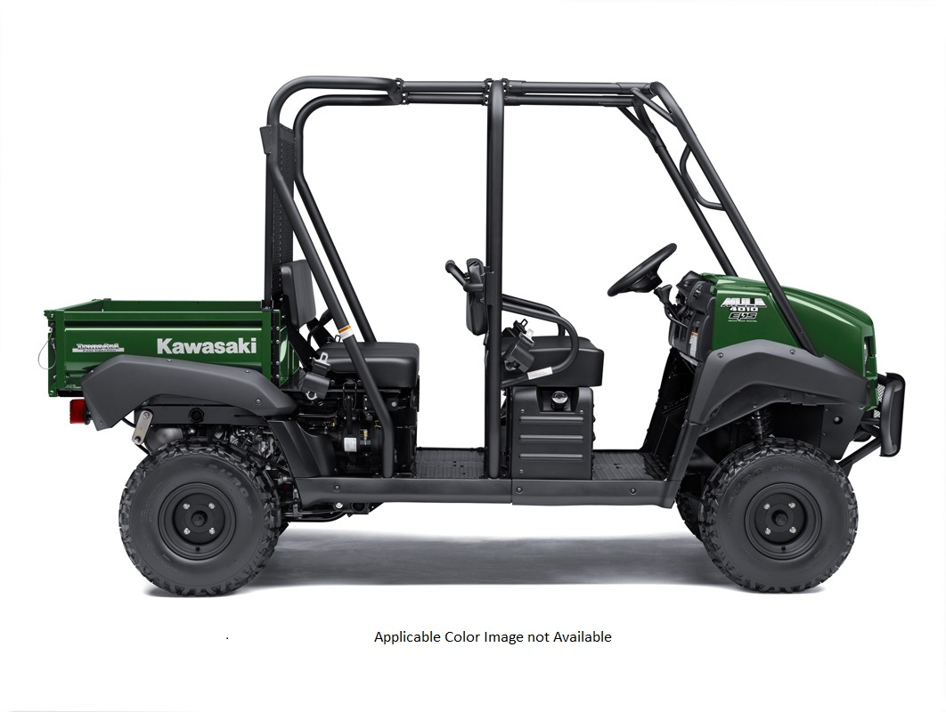2018 Kawasaki Mule 4010 Trans4x4 in Petersburg, West Virginia