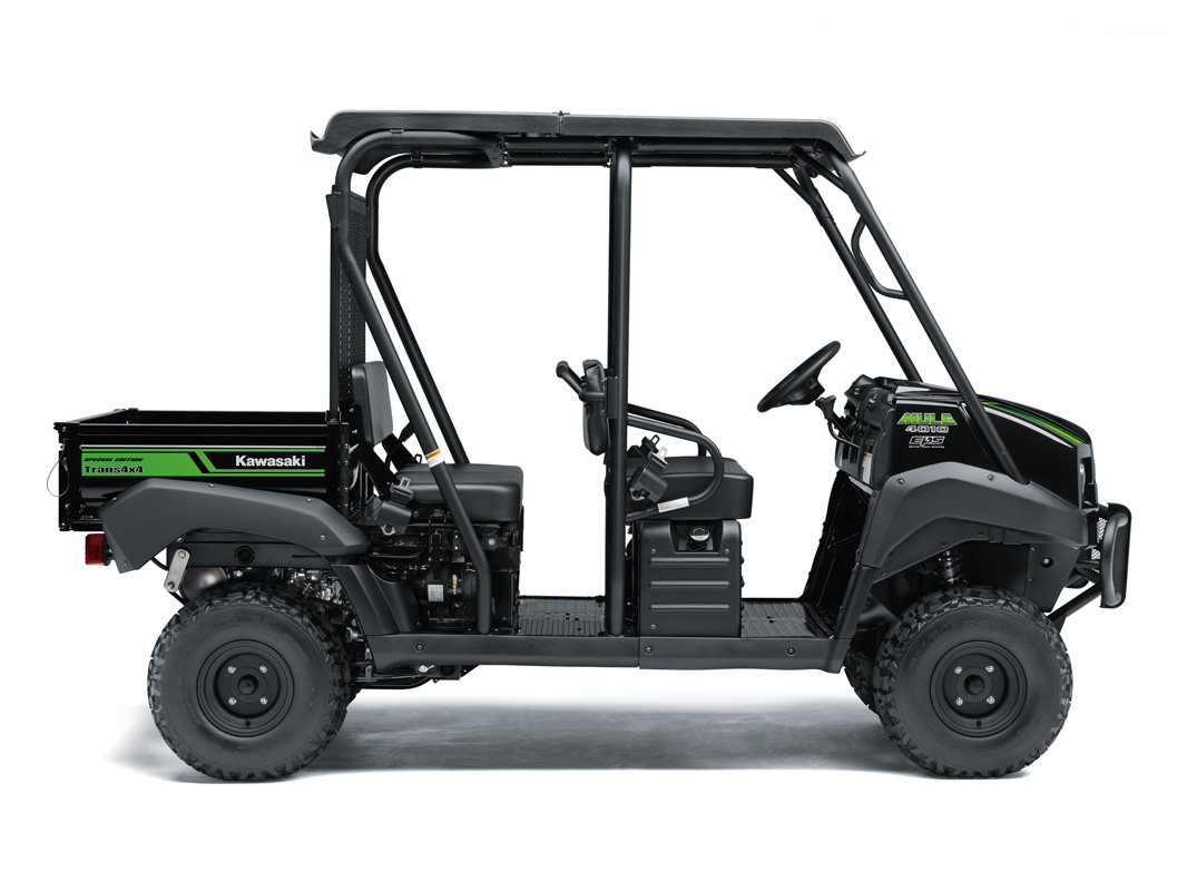 2018 Kawasaki Mule 4010 Trans4x4 SE in Rock Falls, Illinois