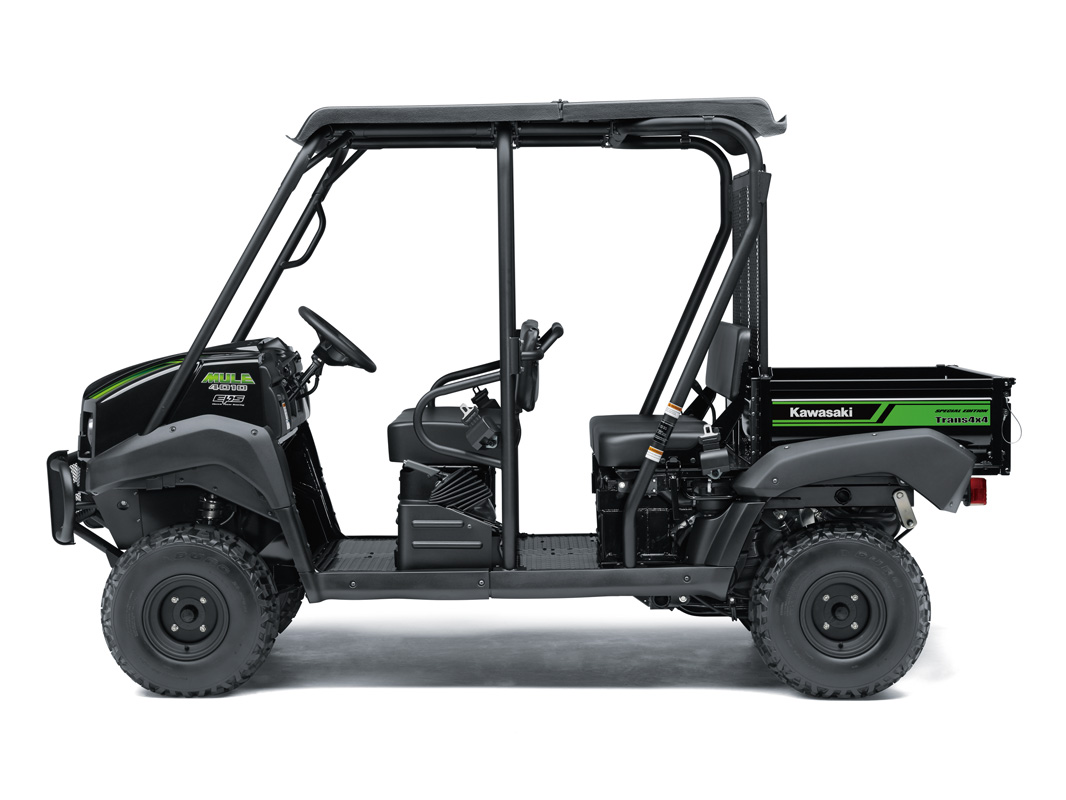 2018 Kawasaki Mule 4010 Trans4x4 SE in Bellevue, Washington