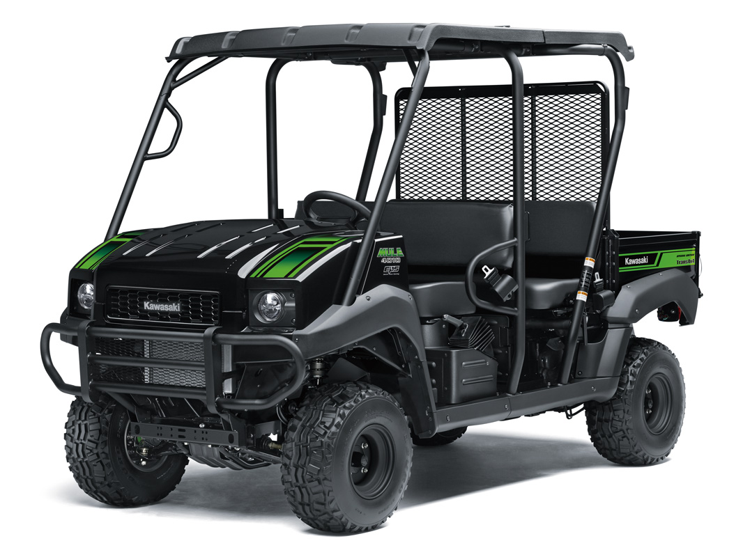 2018 Kawasaki Mule 4010 Trans4x4 SE in Fairfield, Illinois