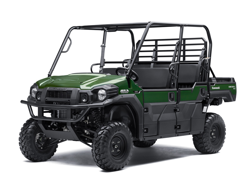 2018 Kawasaki Mule PRO-DXT EPS Diesel in Wilkesboro, North Carolina