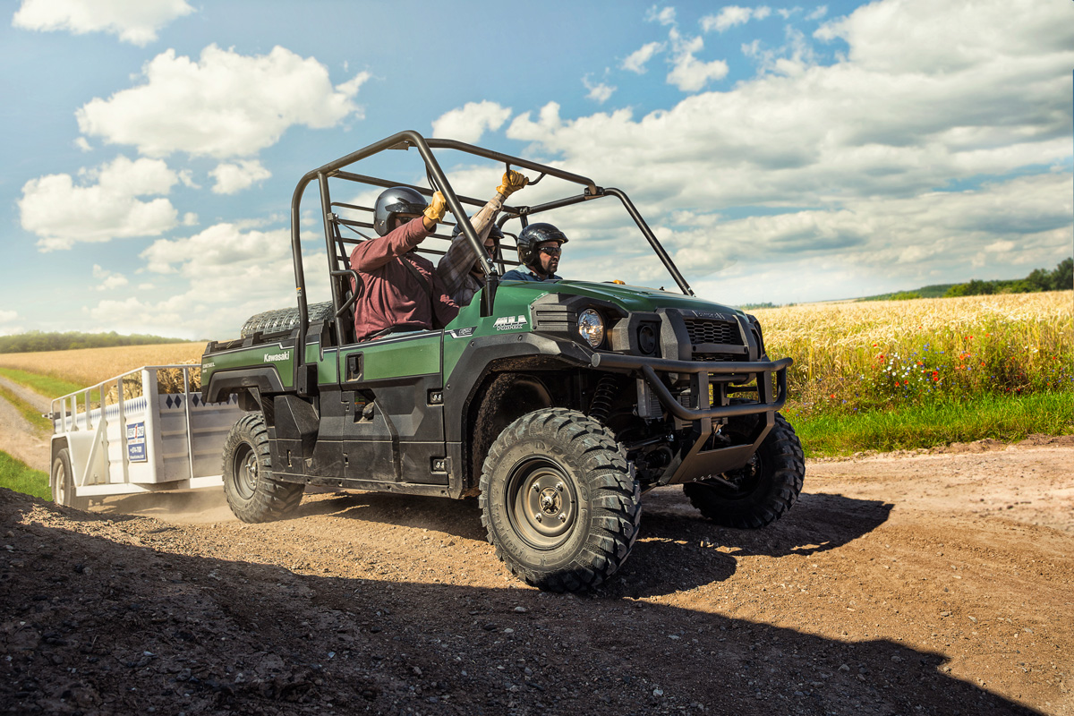 2018 Kawasaki Mule PRO-DX EPS Diesel in Decorah, Iowa