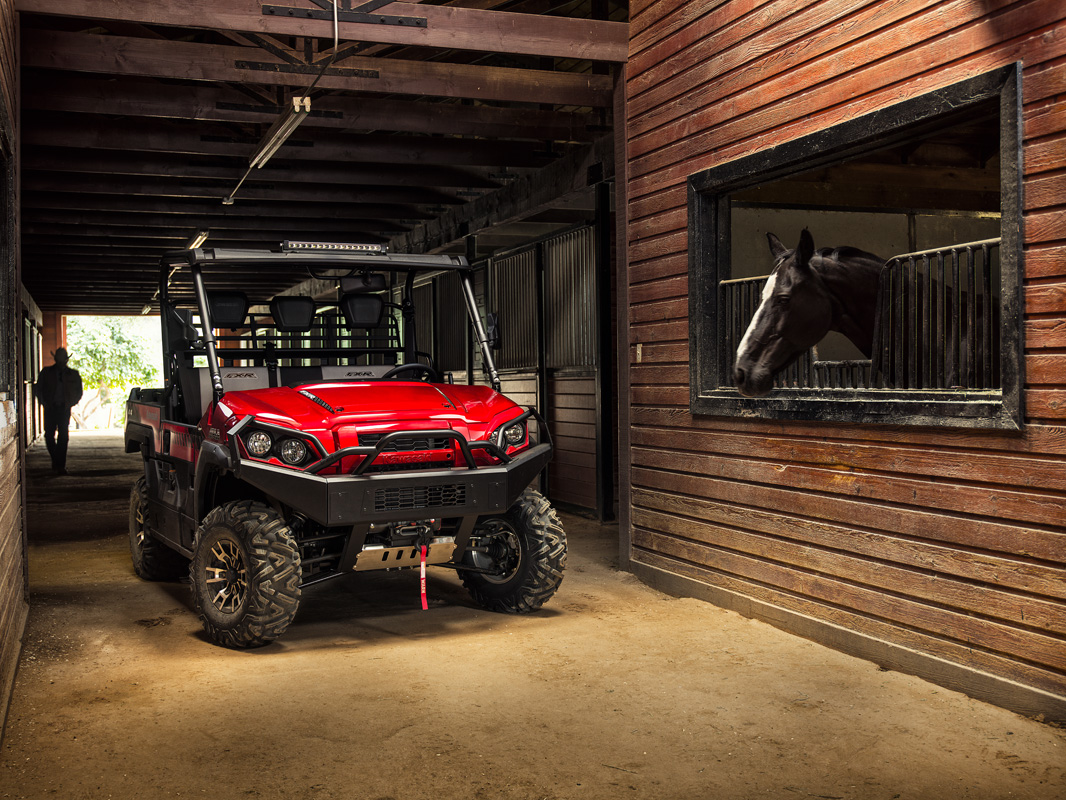 2018 Kawasaki Mule PRO-FXR in Littleton, New Hampshire