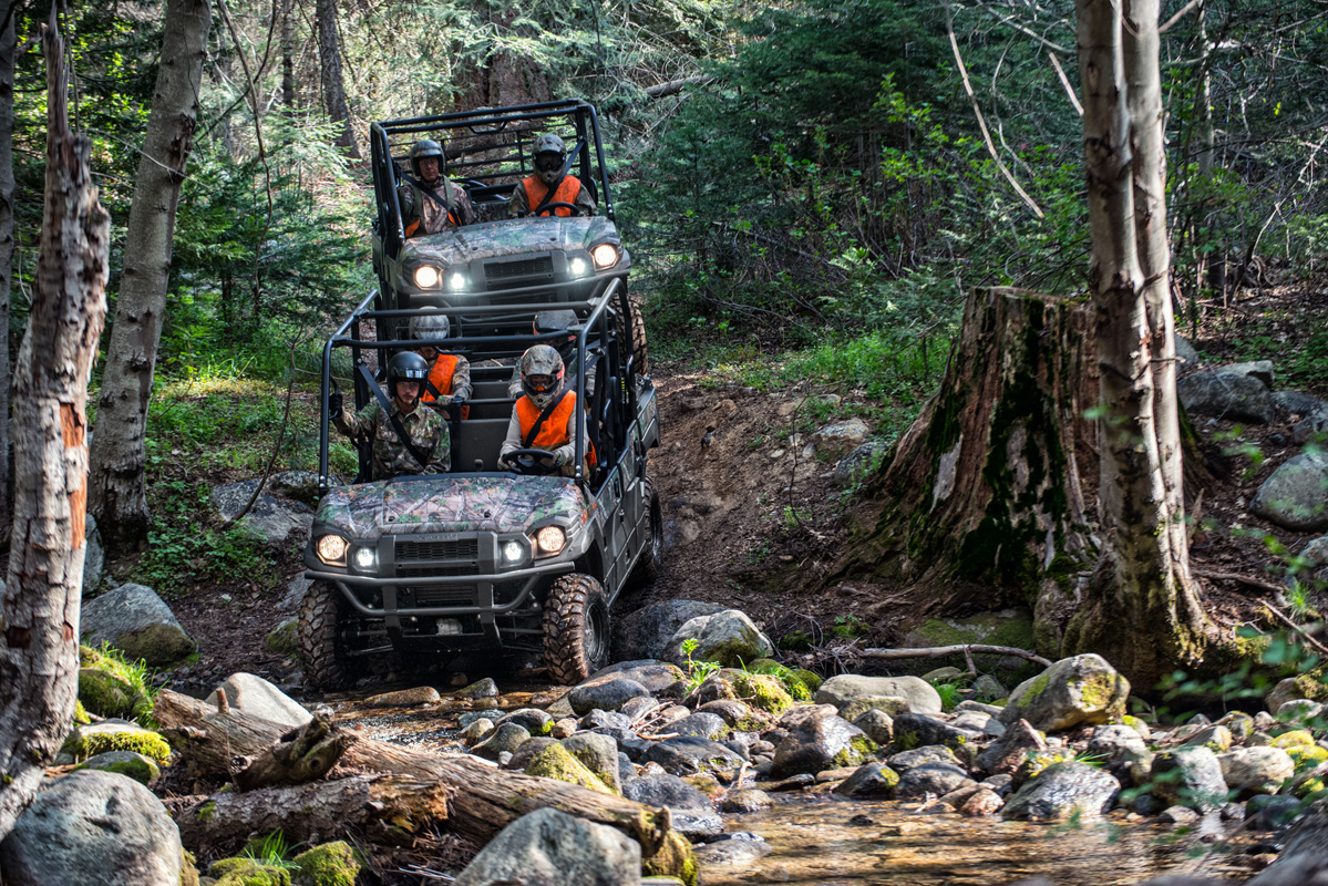 2018 Kawasaki Mule PRO-FXT EPS CAMO in Albemarle, North Carolina
