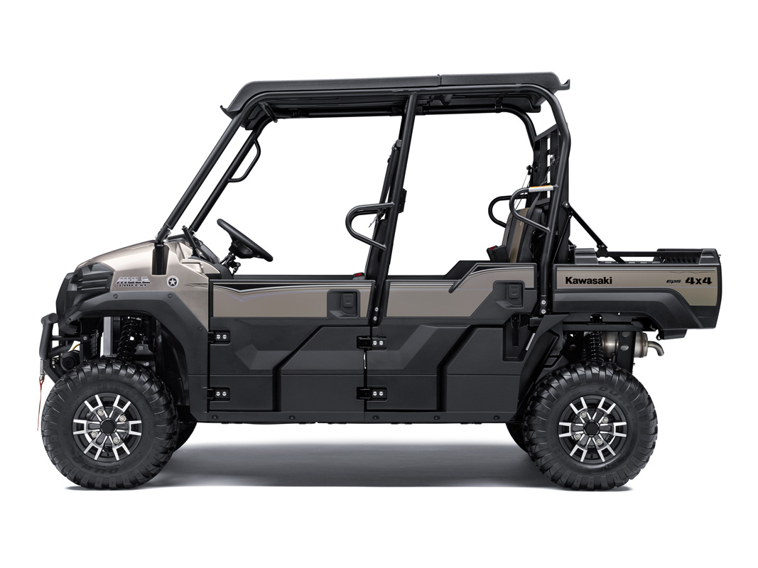 2018 Kawasaki Mule PRO-FXT RANCH EDITION in Pompano Beach, Florida