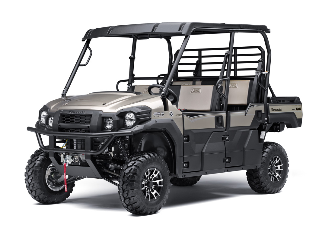 2018 Kawasaki Mule PRO-FXT RANCH EDITION in Dimondale, Michigan