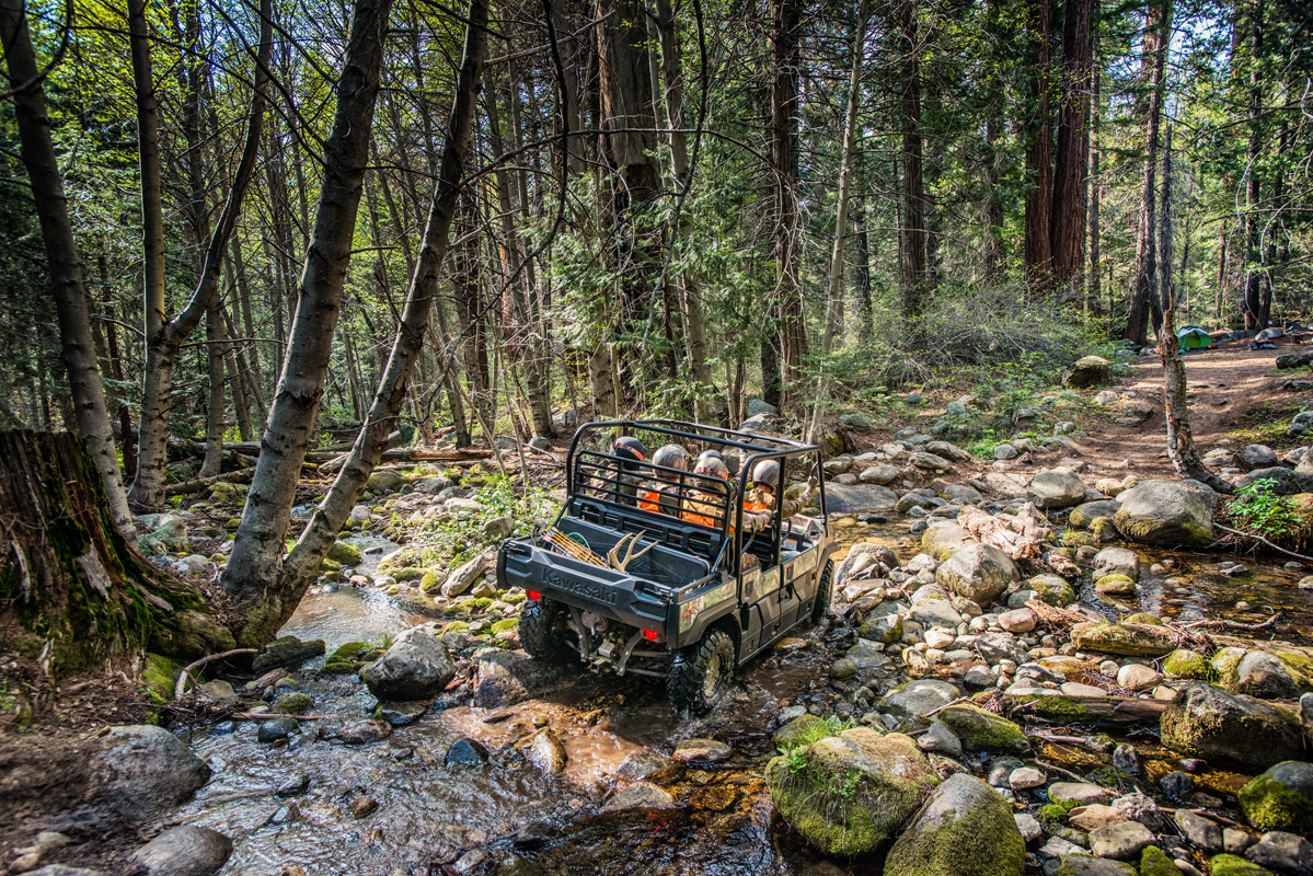 2018 Kawasaki Mule PRO-FXT RANCH EDITION in South Paris, Maine