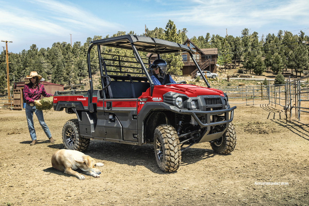 2018 Kawasaki Mule PRO-FX EPS LE in Decorah, Iowa