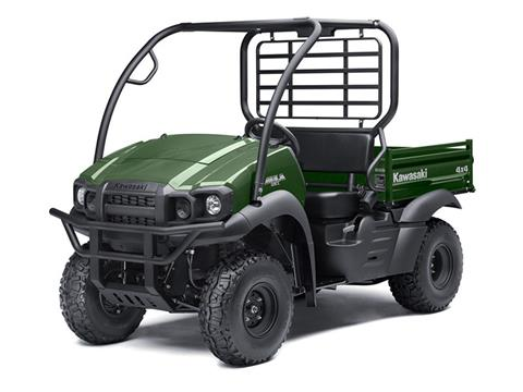 2018 Kawasaki Mule SX 4X4 in Freeport, Illinois