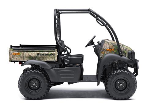 2018 Kawasaki Mule SX 4X4 XC CAMO in Asheville, North Carolina