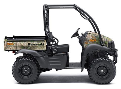 2018 Kawasaki Mule SX 4X4 XC CAMO in Northampton, Massachusetts