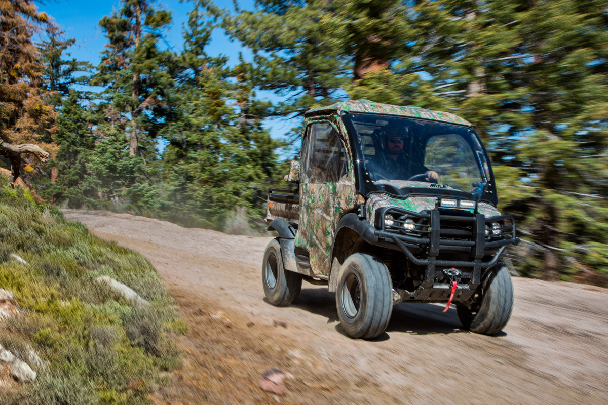 2018 Kawasaki Mule SX 4X4 XC CAMO in Dimondale, Michigan
