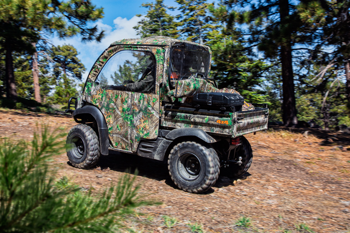 2018 Kawasaki Mule SX 4X4 XC CAMO in Littleton, New Hampshire