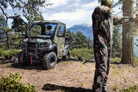 2018 Kawasaki Mule SX 4X4 XC CAMO in Romney, West Virginia