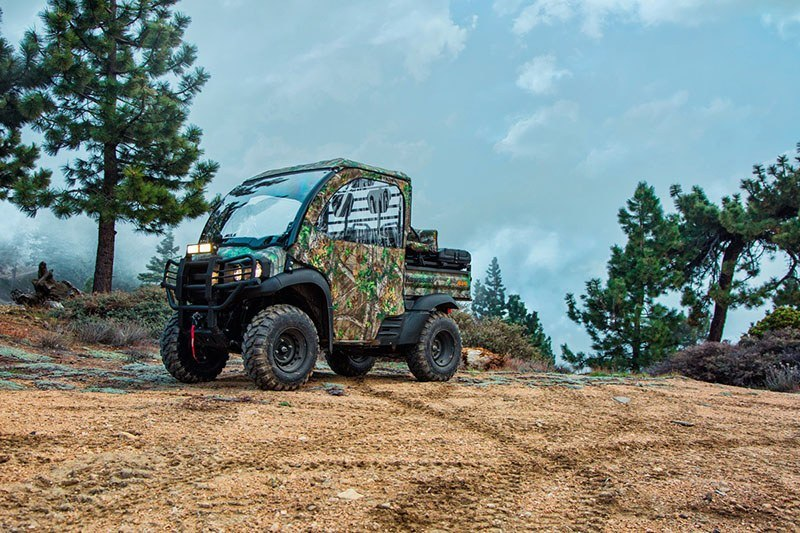 2018 Kawasaki Mule SX 4X4 XC CAMO in Eureka, California - Photo 5