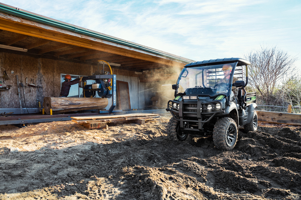 2018 Kawasaki Mule SX 4X4 XC SE in Jamestown, New York