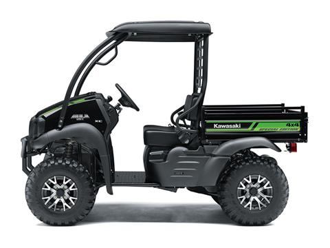 2018 Kawasaki Mule SX 4X4 XC SE in Fairfield, Illinois