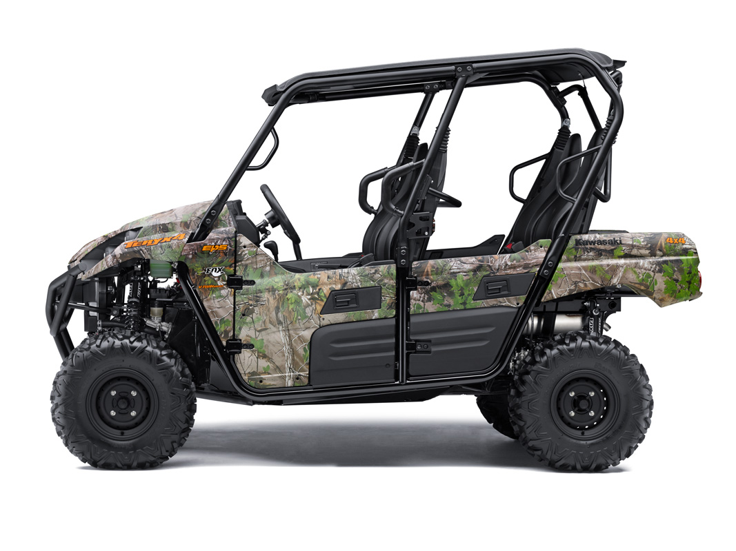 2018 Kawasaki Teryx4 Camo in Fairfield, Illinois