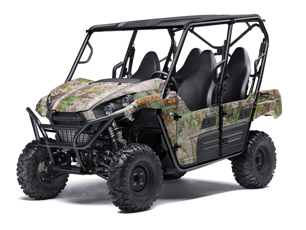 2018 Kawasaki Teryx4 Camo in Yankton, South Dakota