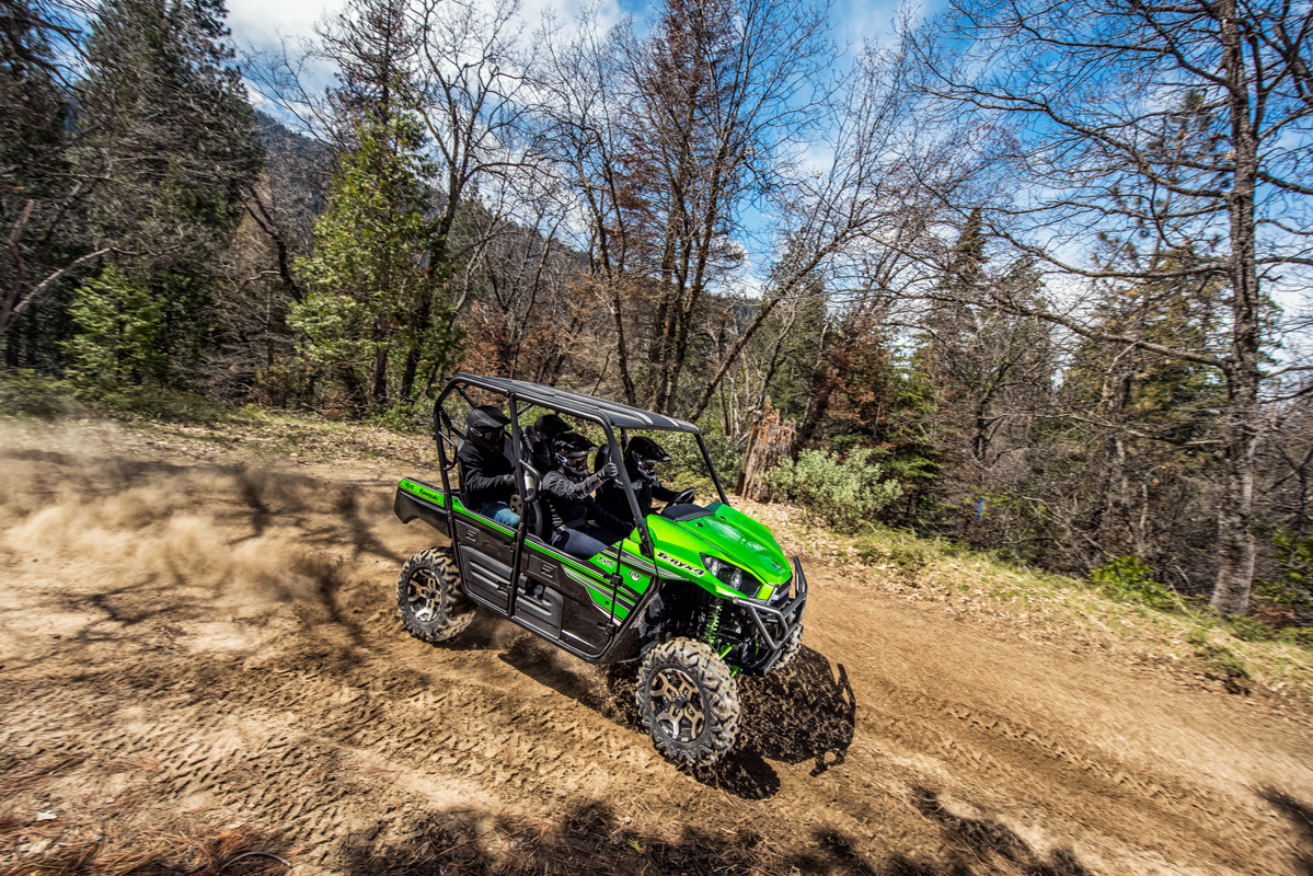 2018 Kawasaki Teryx4 LE in Asheville, North Carolina
