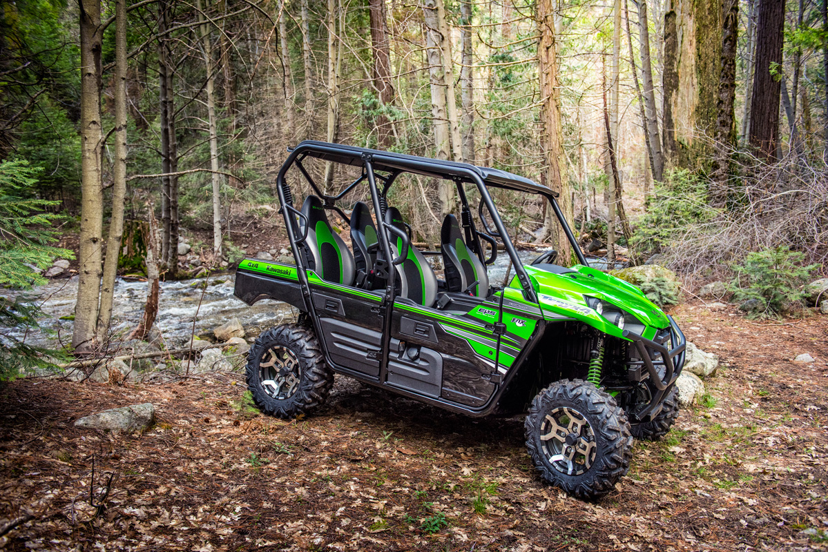 2018 Kawasaki Teryx4 LE Camo in Yankton, South Dakota
