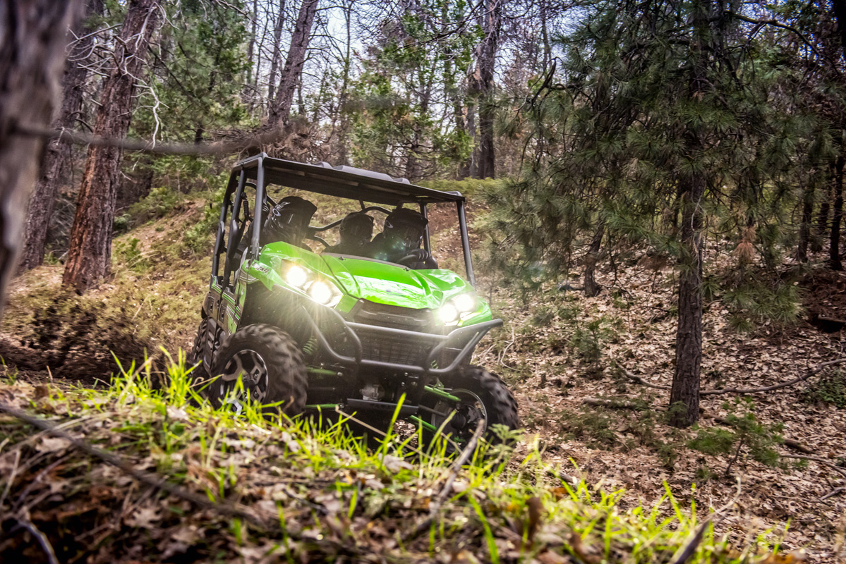 2018 Kawasaki Teryx4 LE Camo in Jamestown, New York