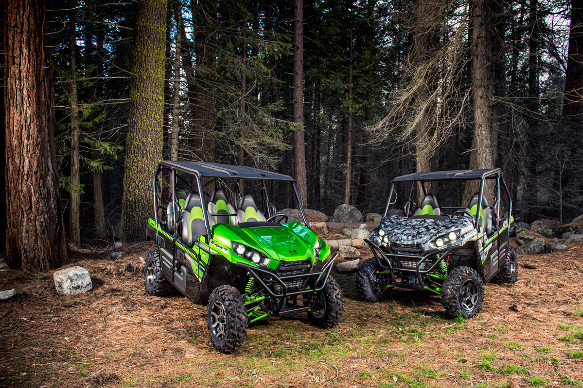 2018 Kawasaki Teryx4 LE Camo in Greenwood Village, Colorado