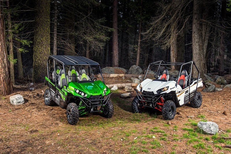 2018 Kawasaki Teryx4 LE Camo in South Paris, Maine