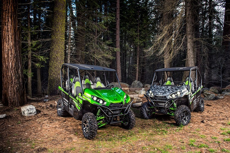 2018 Kawasaki Teryx4 LE Camo in Junction City, Kansas