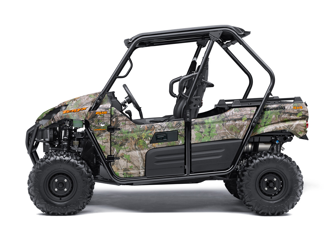 2018 Kawasaki Teryx Camo in Littleton, New Hampshire