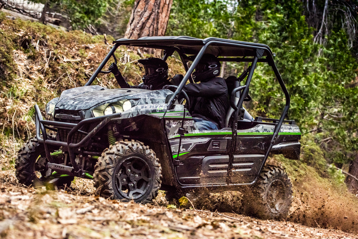 2018 Kawasaki Teryx LE Camo in Littleton, New Hampshire