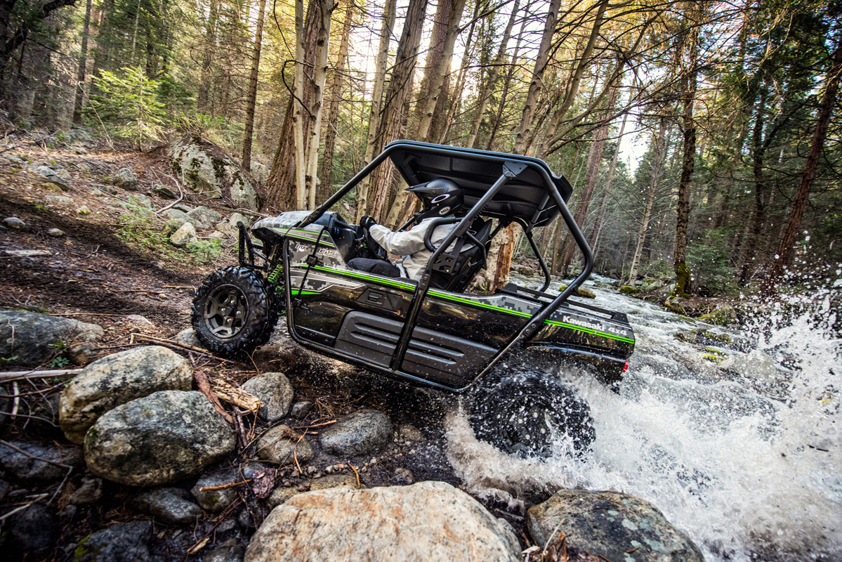 2018 Kawasaki Teryx LE Camo in Petersburg, West Virginia