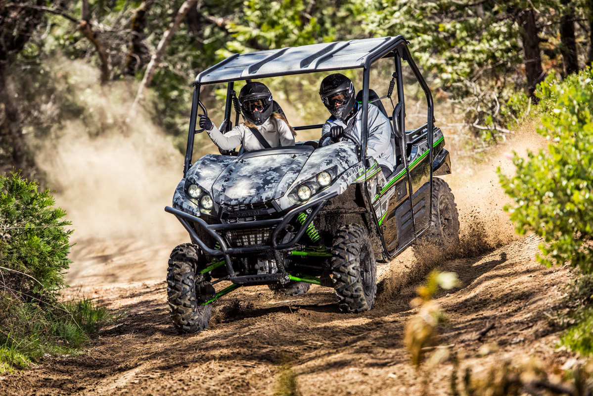 2018 Kawasaki Teryx LE in Fairfield, Illinois