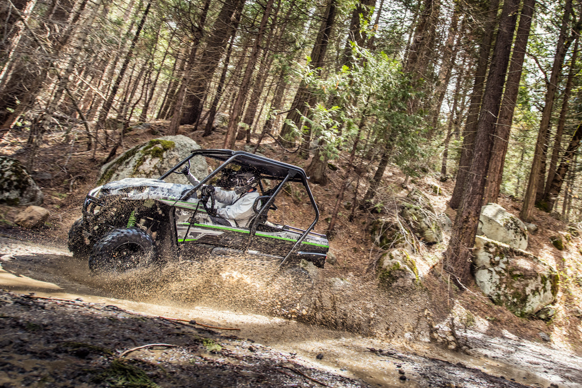 2018 Kawasaki Teryx LE Camo in Jamestown, New York