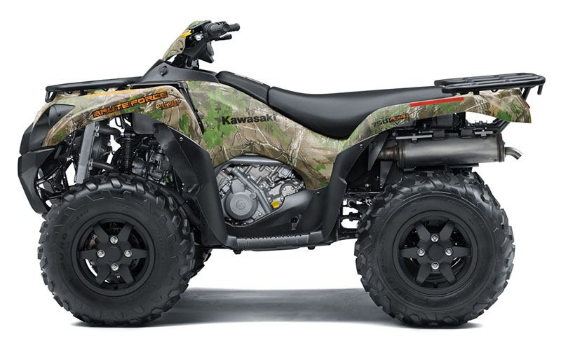 2019 Kawasaki Brute Force 750 4x4i EPS Camo in San Francisco, California - Photo 2