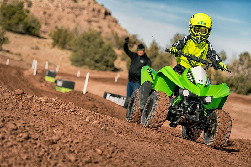2019 Kawasaki KFX50 in Harrisburg, Illinois