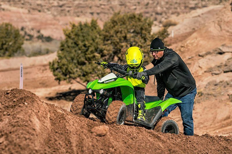 2019 Kawasaki KFX50 in Highland, Illinois