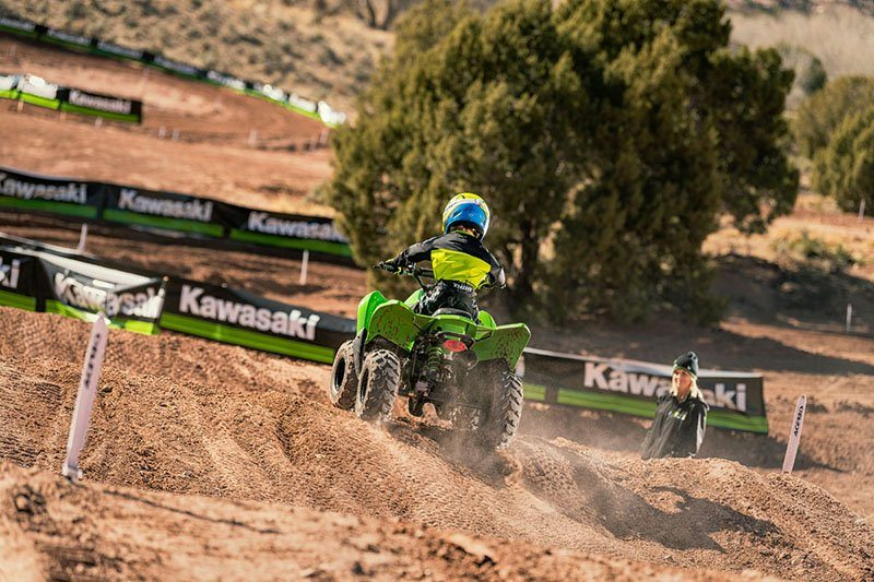 2019 Kawasaki KFX 50 in Freeport, Illinois - Photo 12