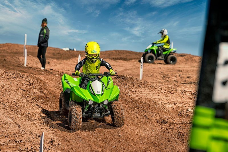 2019 Kawasaki KFX 50 in South Paris, Maine - Photo 9